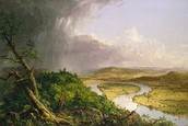 The Oxbow by: Thomas Cole