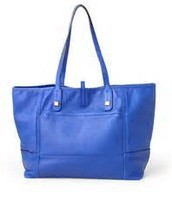 Genuine Leather Cobalt Purse $85