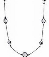 Hematite chelsea necklace (can be doubled or worn long)