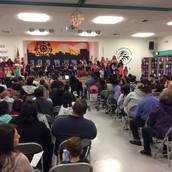 Full House at the Dia de Los Muertos Event!