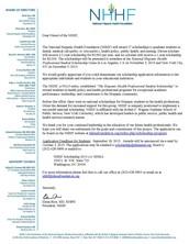 The National Hispanic Health Foundation Scholarship