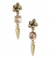 Holly Drop clip on earrings
