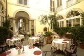 מסעדת Enoteca Pinchiorri בטוסקנה