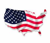 Flag of USA