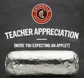 Free Chipotle for School Staff