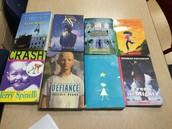 Stack of Short Novels!