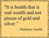 Quote from Mahatma Gandi