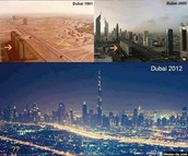 Dubai Before & After