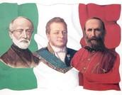 Cavour, Mazzini, Garibaldi