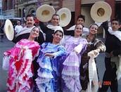 Traditonal dancers