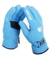 los guantes azules