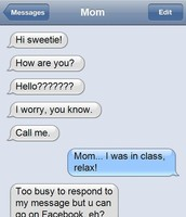 Texting/writing