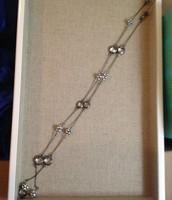 Chelsea Necklace in Hematite $29.50