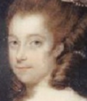 A portrait of Abigail when she was young.