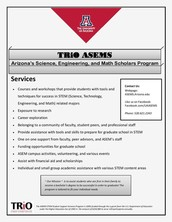 TRiO ASEMS - Arizona's Science, Engineering, and Math Scholars Program