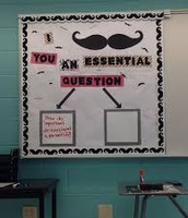 Essential Question Bulletin Board Idea