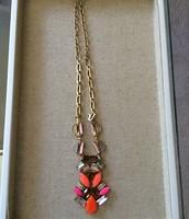 Pop Geo Pendant Necklace $44.50
