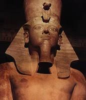 a statu of a faro