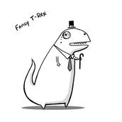 Fancy AF T-Rex