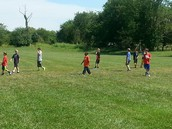 Soccer Fun At Recess