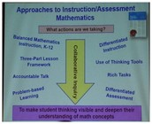Approaches to Instruction and Assessment in Mathematics