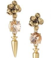 SOLD! Cheryl Drop Earrings