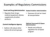 Regulatory Commissions