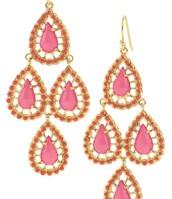 Seychelles Earrings - Pink
