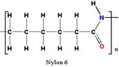 Chemical Structure of Nylon-6