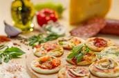 Nuestra empresa vende las mejores pizzetas a nivel nacional