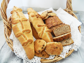 Knotted Barbados Breads