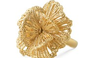 Geneve Lace Ring in gold