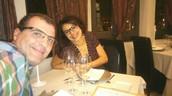 De sopar romàntic. Hotel Sant Roc