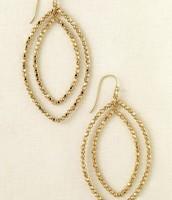 Bardot Earrings Gold