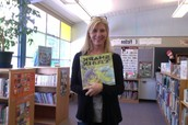 Ms. Vannini, Schmitz Park teacher/librarian