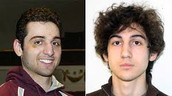 left~Tamerlan right~Dzhokhar