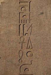 Types and forms of hieroglyphics