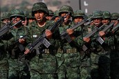 Mexican Army restore peace