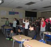 we spent inside recess
