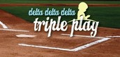 Tri Delta Triple Play Tabling