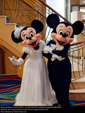 The Famous Mickey Mouse and Minnie Mouse