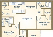 NOW AVAILABLE IN OCTOBER 2BED 2BATH