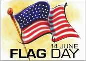 Flag Day at the Mall