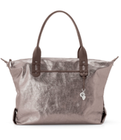 How does she do it bag - metallic