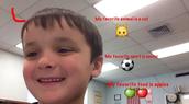 Landon - Kindergarten