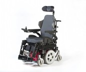 Elektrische rolstoel voor binnen en buiten