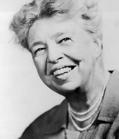 Eleanor Roosevelt in her later years