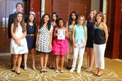 Blair with his U14 Girls Basketball Team