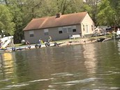This is a picture of the cabin that we stay at in the summer at 10 Mile Lake Resort for the last 3 years