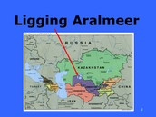 Ligging Aralmeer